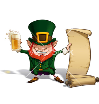 Free st patrick scrol vector - Free vector #235385