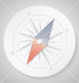 Free paper compass vector - Free vector #235595