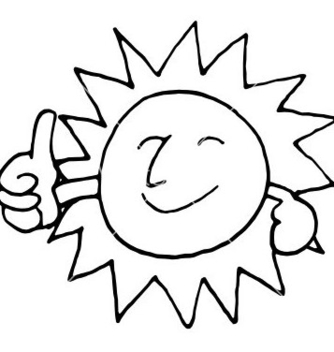 Free sun smile vector - Free vector #235705