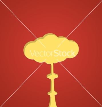 Free nuclear blast vector - Free vector #235775