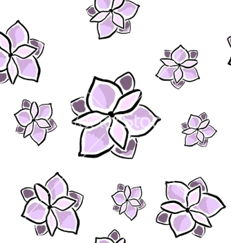 Free magnolia seamless pattern vector - vector gratuit #235955