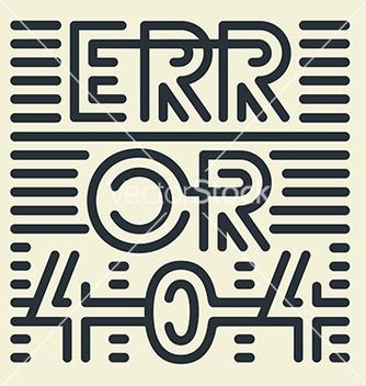 Free error 404 vector - Free vector #236065