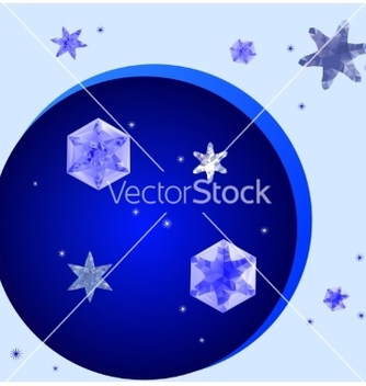 Free crystal snowflakes vector - Free vector #236345