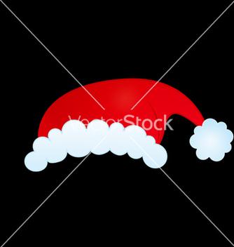 Free santas hat vector - vector gratuit #236435