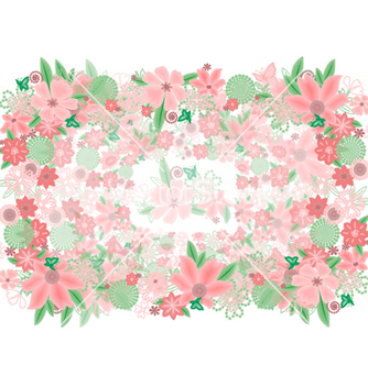 Free abstract floral background vector - Free vector #236475