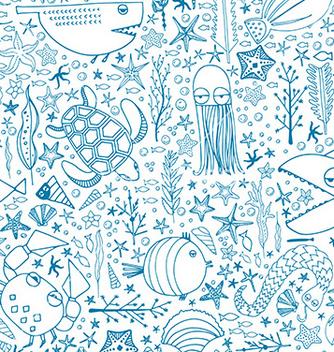 Free underwater pattern vector - бесплатный vector #236505