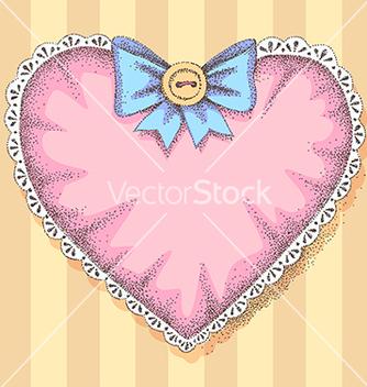 Free vintage heart vector - Free vector #237035
