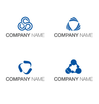 Free logo triangle concept vector - Kostenloses vector #237045