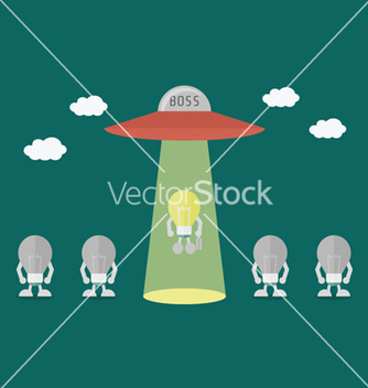 Free ufo vector - Free vector #237085