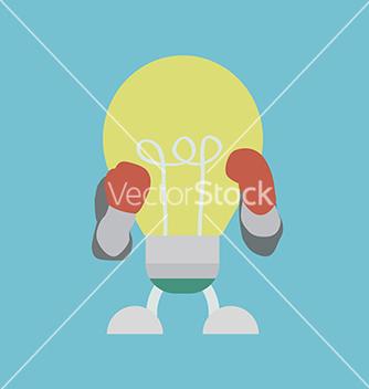 Free lightbulbboxer vector - Free vector #237375