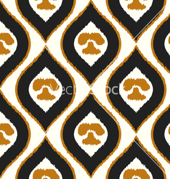 Free seamless texture with abstract pattern tribal vector - Free vector #237585