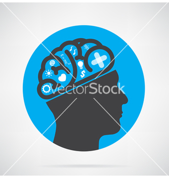 Free creative head vector - Free vector #237625