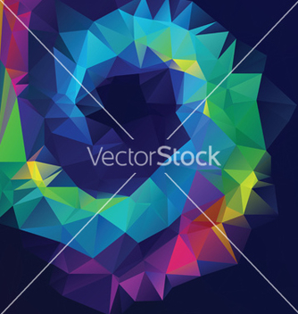 Free abstract geometric background vector - Free vector #237735