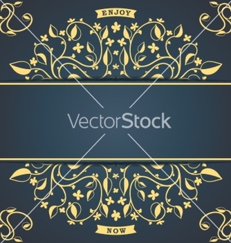 Free vintage floral pattern vector - Free vector #238105