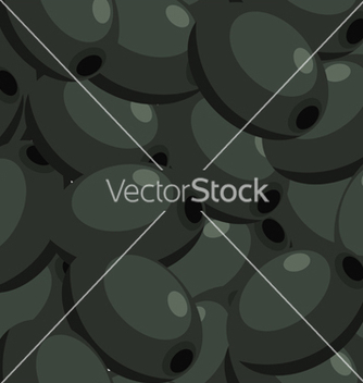 Free seamless texture with fruits of the olive tree vector - Free vector #238565