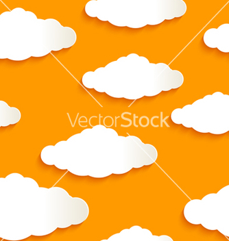Free seamless texture of clouds vector - бесплатный vector #238585