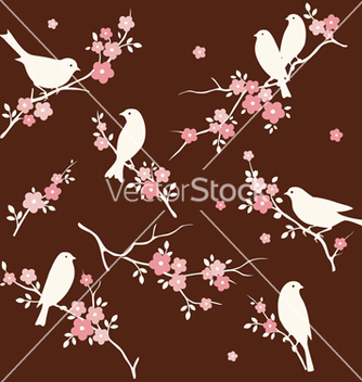 Free bird and twig set vector - Free vector #238725