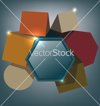 Free abstract squares background vector - Free vector #238795