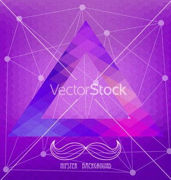 Free vintage hipster background vector - Free vector #238865