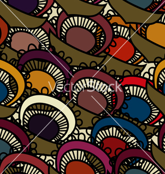 Free seamless with floral pattern vector - Free vector #238915