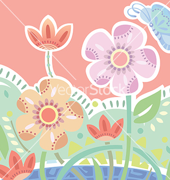 Free blossom flower vector - Free vector #239465