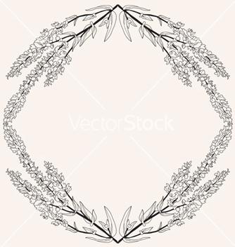 Free floral frame vector - Kostenloses vector #239805