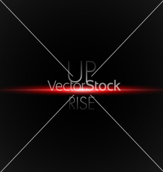 Free red rise vector - vector gratuit #239815