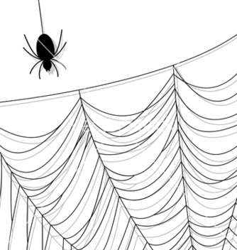 Free spider web vector - бесплатный vector #240035