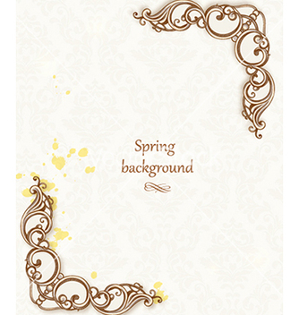 Free floral background vector - Kostenloses vector #240105