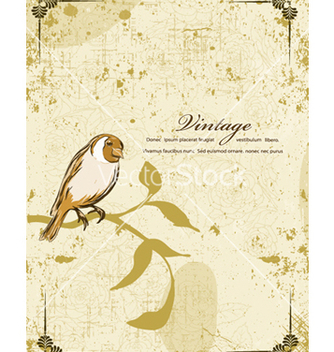 Free vintage floral background vector - Kostenloses vector #240875