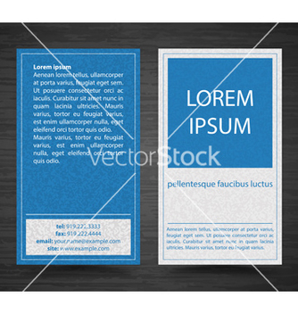 Free abstract creative business cards set template vector - бесплатный vector #241635