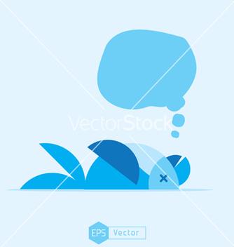 Free blue bird dead vector - Kostenloses vector #241965