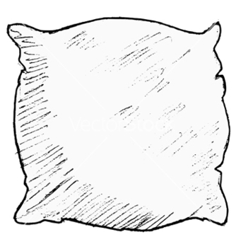 Free pillow vector - vector gratuit #242225