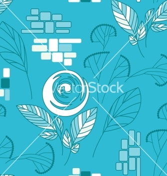 Free beautiful seamless floral pattern vector - Free vector #242255