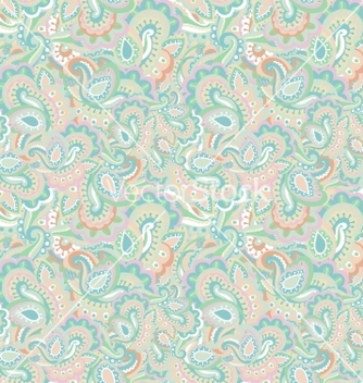 Free paisley seamless background vector - Kostenloses vector #242265