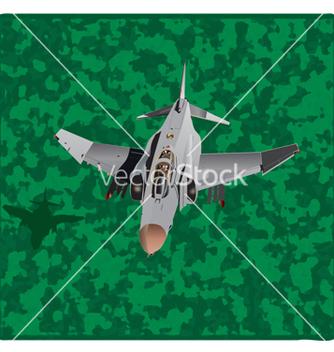 Free american plane copy vector - vector #242325 gratis