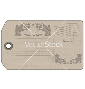 Free vintage postcard vector - Kostenloses vector #242435
