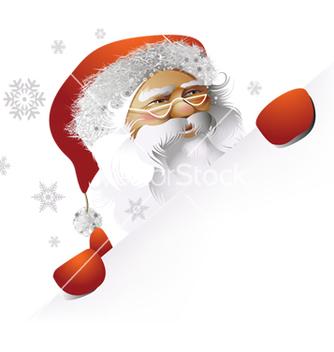 Free santa claus vector - vector gratuit #242555