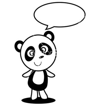 Free little panda vector - Free vector #242685