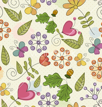 Free seamless paisley pattern vector - Kostenloses vector #242805