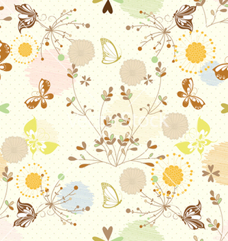 Free seamless paisley pattern vector - Kostenloses vector #242835