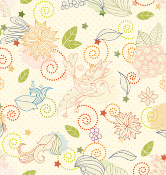 Free seamless paisley pattern vector - Free vector #242875