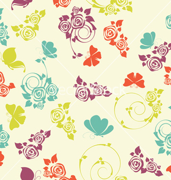 Free seamless pattern vector - Free vector #242925