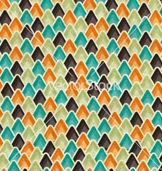 Free retro seamless geometric pattern vector - бесплатный vector #243035