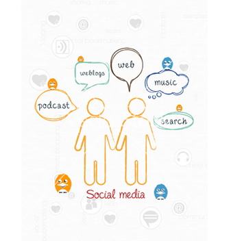 Free social media vector - Free vector #243375
