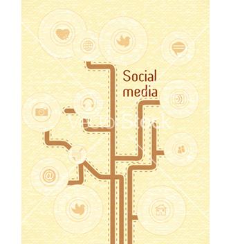 Free social media concept vector - Kostenloses vector #243395