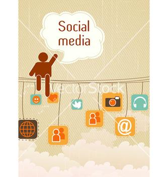 Free social media vector - Kostenloses vector #243405