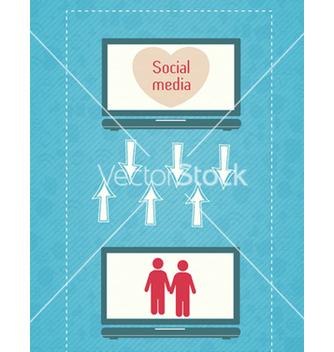 Free social media concept vector - Kostenloses vector #243445