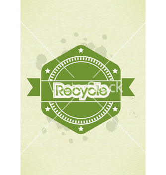 Free eco friendly label vector - Kostenloses vector #243665