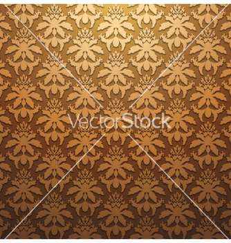 Free vintage floral seamless pattern vector - Kostenloses vector #244365